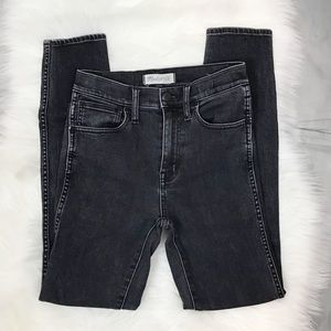 "▪️MADEWELL▪️10"" High Riser Skinny. Gray Black. 24"